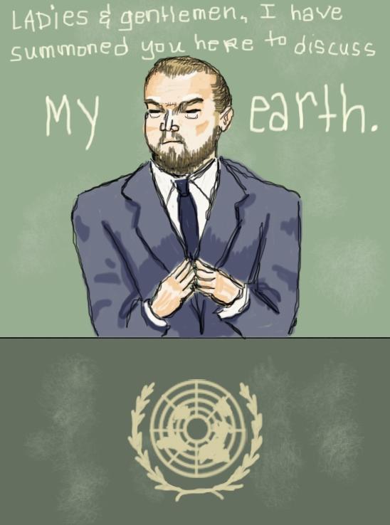 Master DiCaprio by Amanda Wood