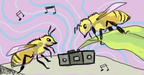 Bee Music by Amanda Wood