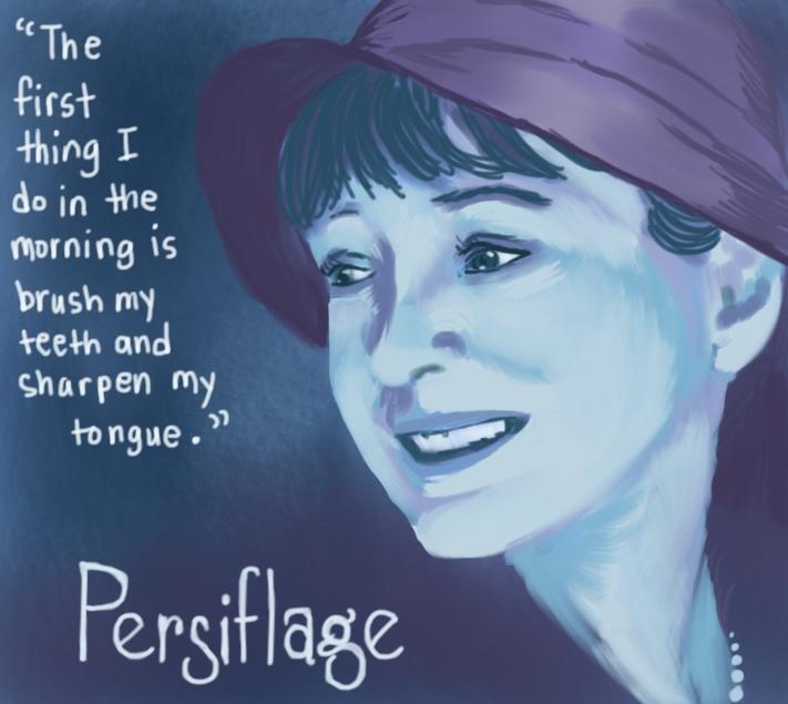 Persiflage by Amanda Wood