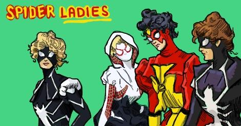 Spider Ladies