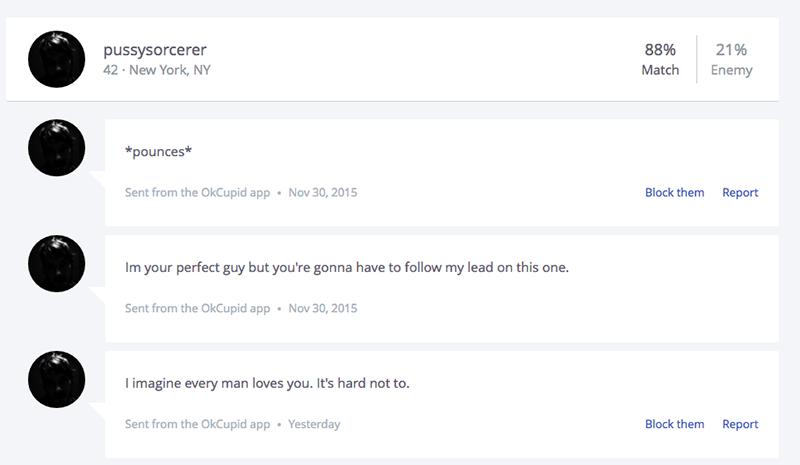 OKCupid Message