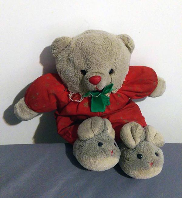 Teddy, Dollissa's Security Blanket