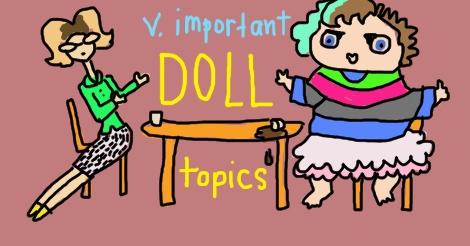 V Important Doll Topics by Amanda Wood