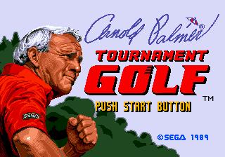 Arnold Palmer Tournament Golf for Sega