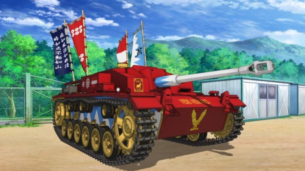 Girls Und Panzer Screenshot