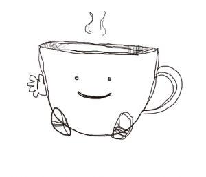 Jittery Coffee by Amanda Wood