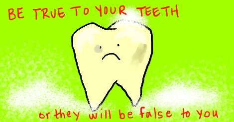 our poor teeth