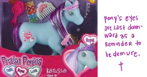 pony no no
