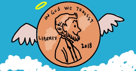 keep your pennies god