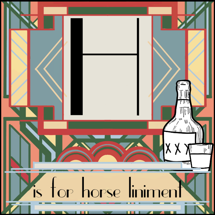 Vogue-cabulary: H Is for Horse Liniment