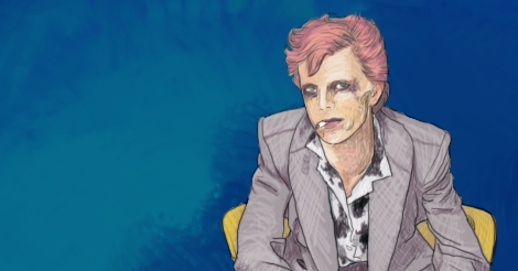 The isolated Attenbowie sits, a piece of the larger illustration which soon follows.